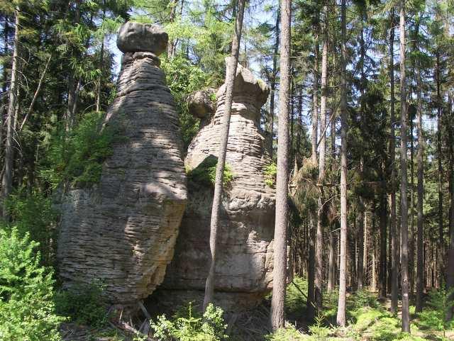 Skalne Grzyby, Park Narodowy Góry Stołowe