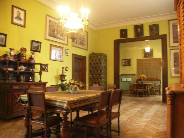 Oblęgorek, sypialnia Henryka Sienkiewicza