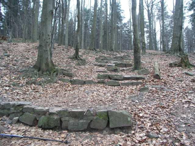 Góry Świętokrzyskie, wejście na Łysicę