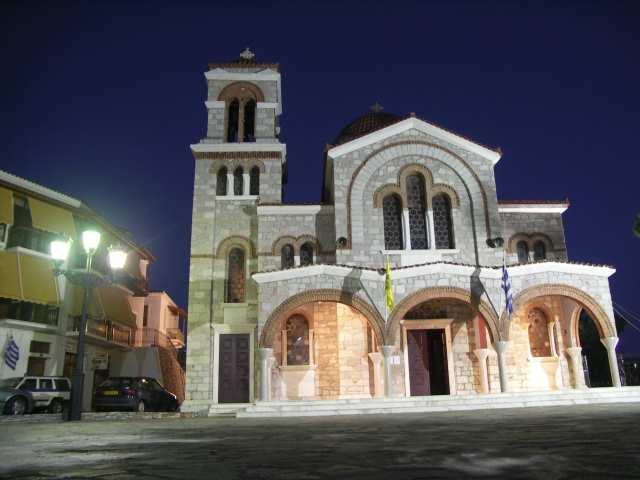 Delphy, kościół