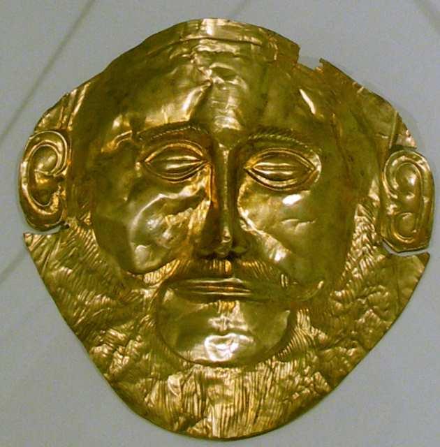Mykeny Maska Agamemnona