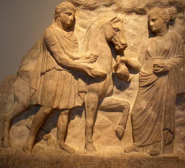 Greckie rzeźby