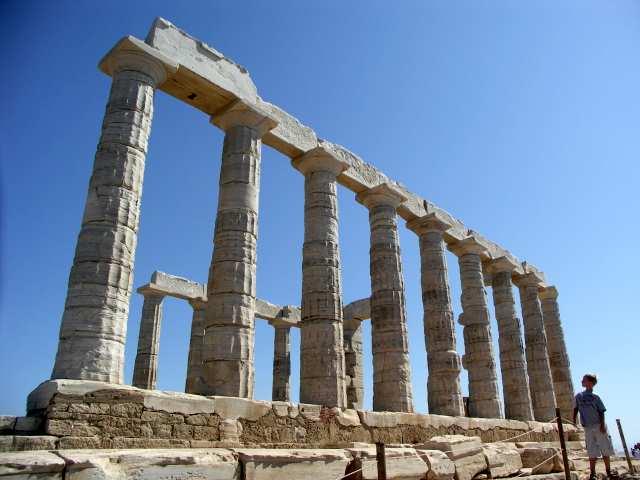 Przylądek Sunion świątynia Posejdona