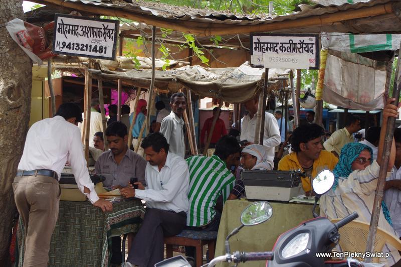 Pisarz uliczny, Indie, Bikaner