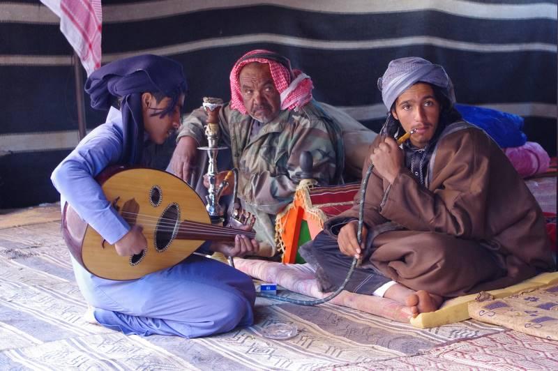 Wadi Rum beduini, pustynia