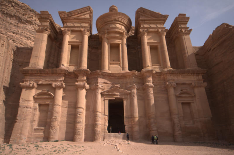 Petra grobowiec Monaster