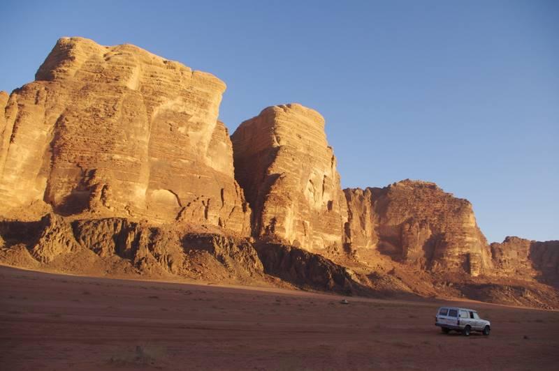 Wadi Rum  jeep toyota