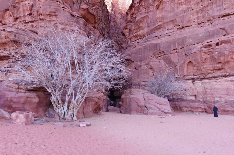 Wadi Rum, pustynia Jordania