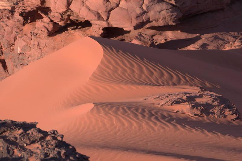 Pustynia, wydma, Wadi Rum