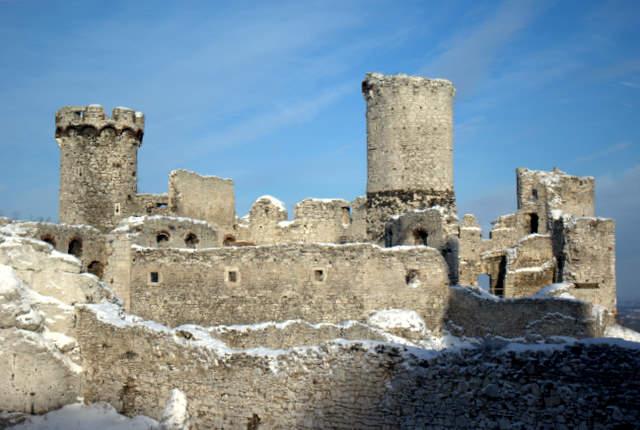 Podzamcze, zamek Ogrodzieniec