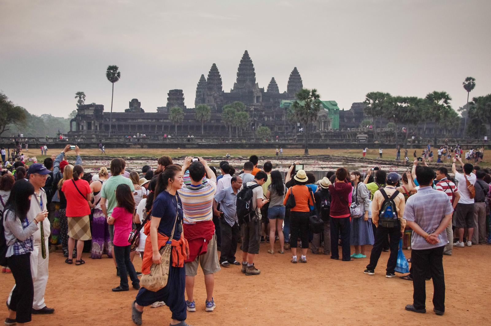Angkor Wat turyści