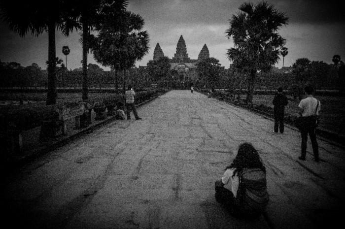 noc w Angkor Wat