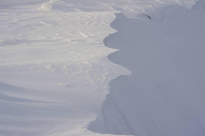 nawisy  Śnieżny Kocioł polodowcowy