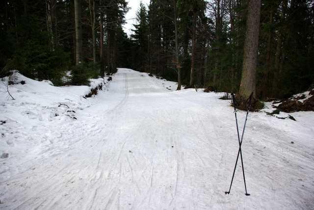 Kubalonka, trasy biegowe