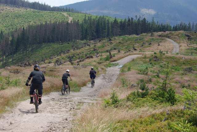 Szlak na Baranią Górą