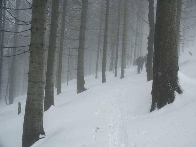 Biały Krzyż, wycieczka narciarska