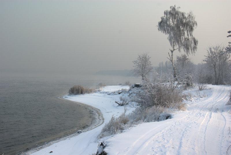 Dzieżno Duże zimą