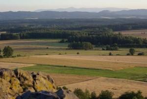 Pogórze Kaczawskie - Ostrzyca - Szlak Wygasłych Wulkanów