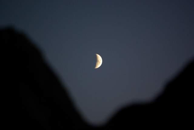 Czartowska Skała nocą