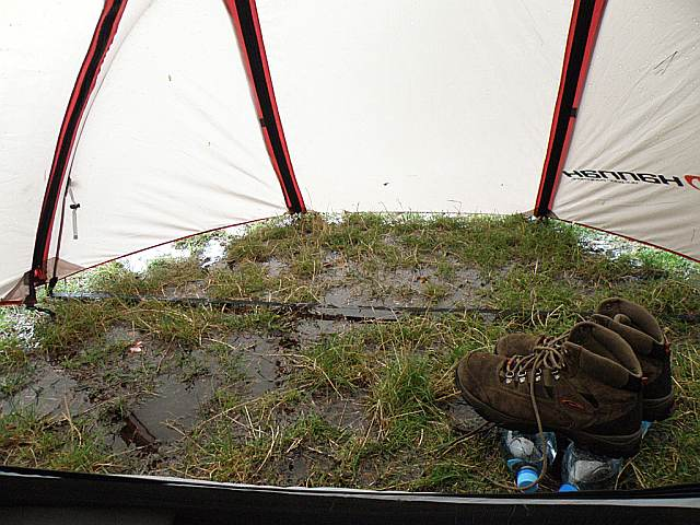 Zatopiony namiot, Złoty Stok
