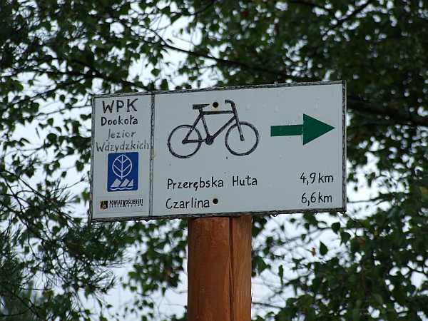 wdzydzki park krajobrazowy rower