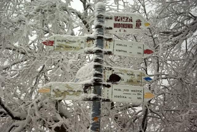 szlaki na Ślężę