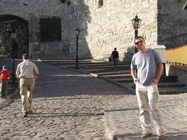 Eger, droga na zamek