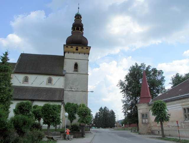 Szczytnik kościół , Stitnik