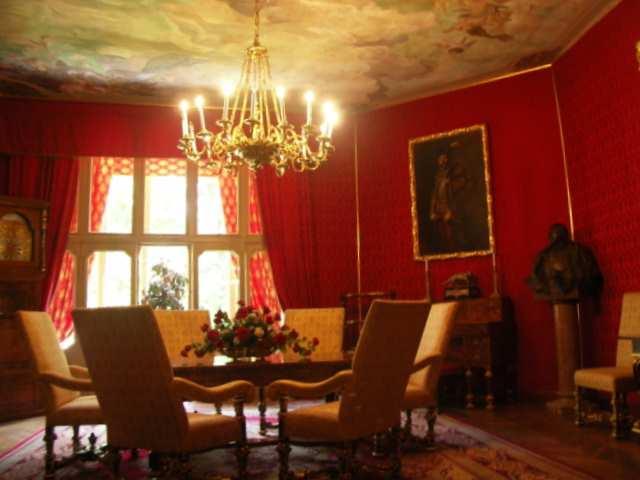 Pałac Betliar salon