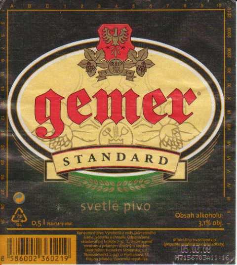 Piwo Gemer