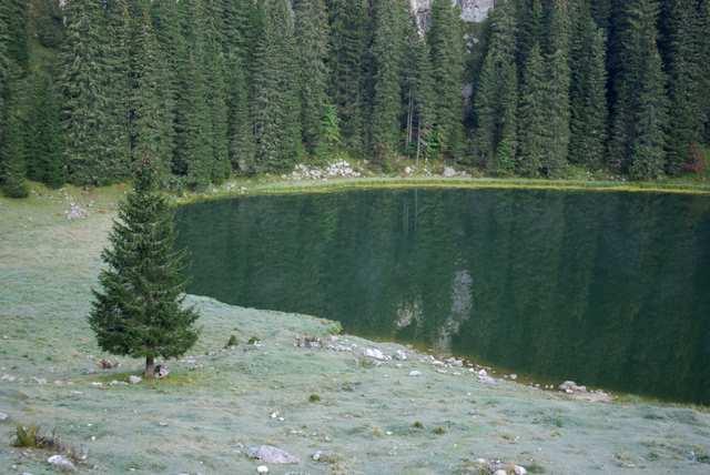 jezioro, przy schronisku