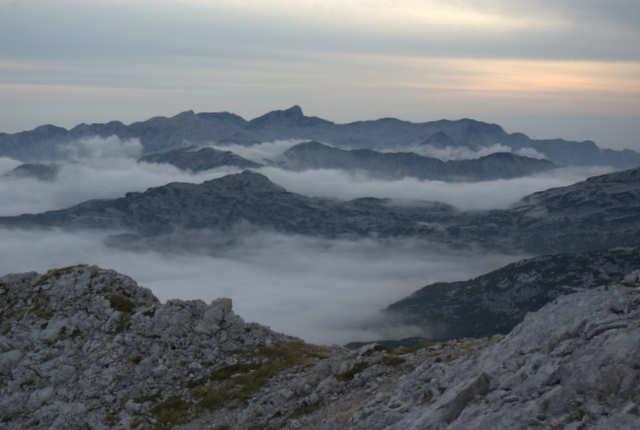morze chmur nad doliną 7 triglavskich jezior