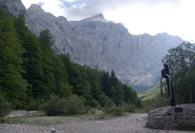 Triglav, pomnik, północna ściana