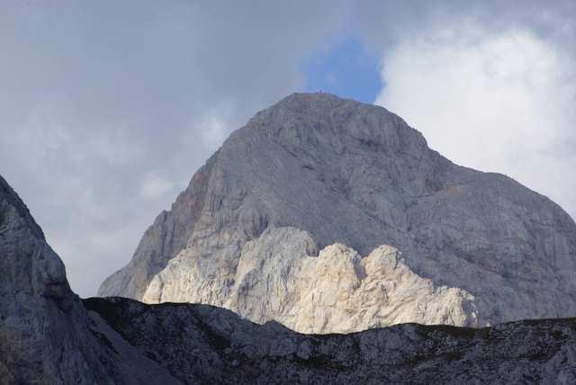 Trivglav z Przełęczy Lazoski Preval