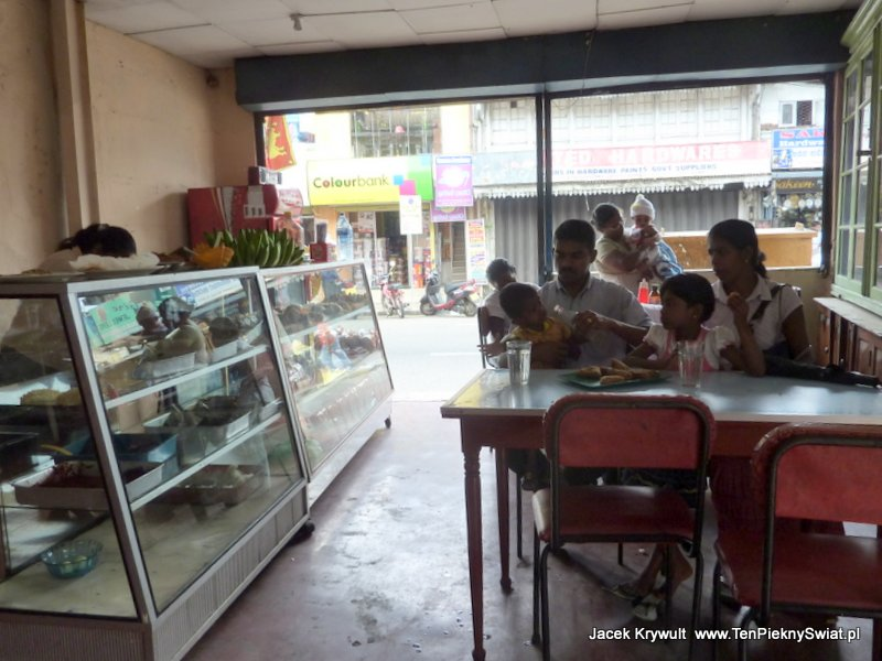 Sri Lanka, jadłodajnia