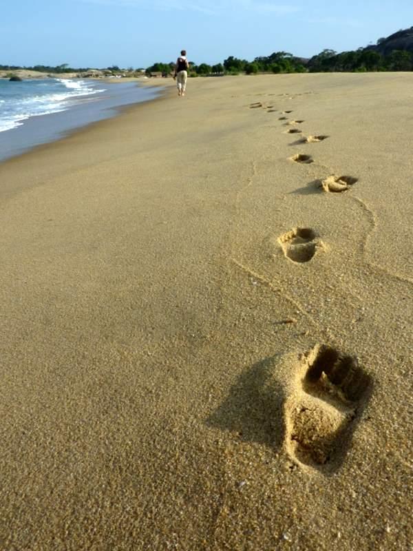plaża, Sri Lanka,  Yala