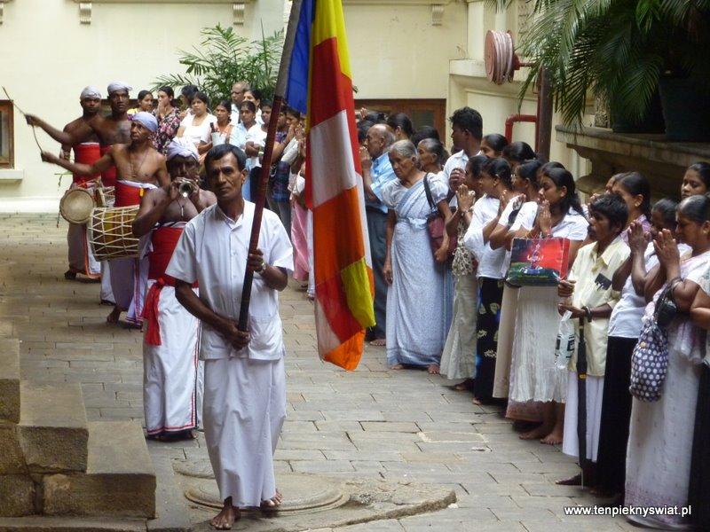 Świątynia Zęba w Kandy Sri Lanka
