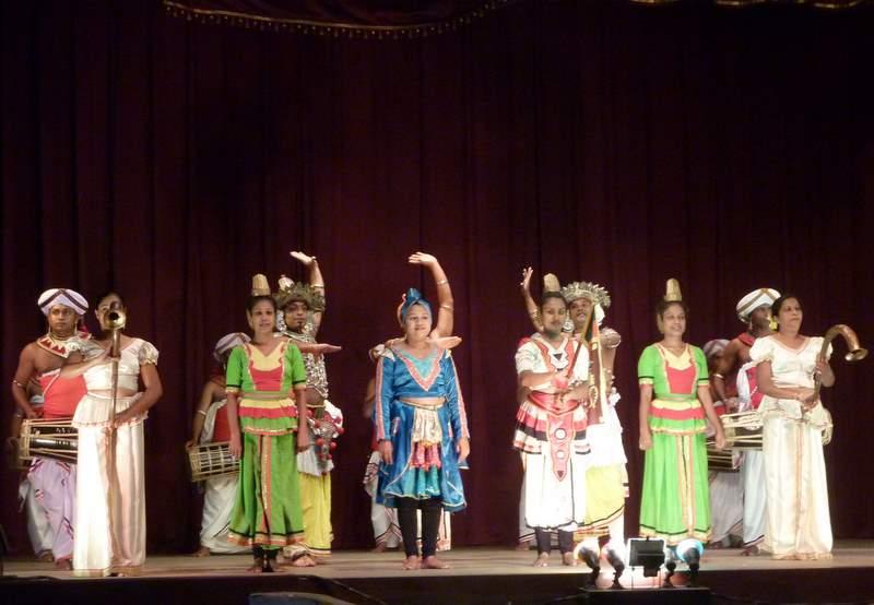 Kultura Sri Lanki, tańce i pieśni
