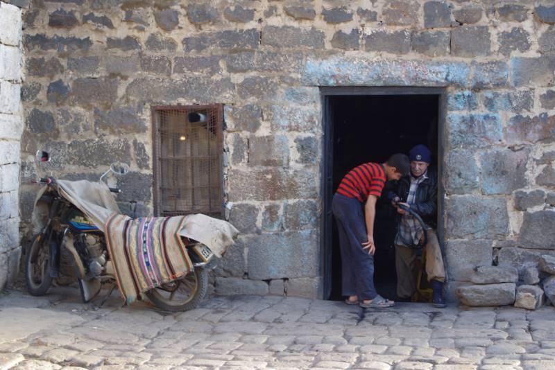Bosra, Syria mieszkańcy
