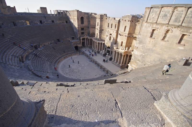 Bosra teatr rzymski