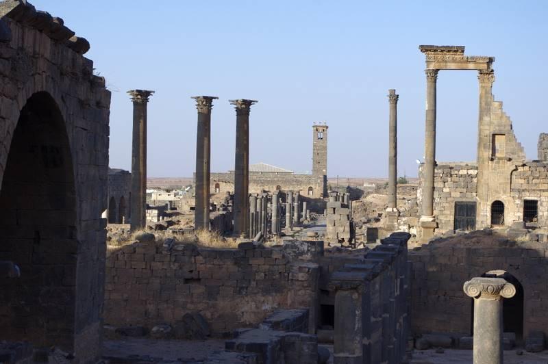 bazaltowe miasto Bosra