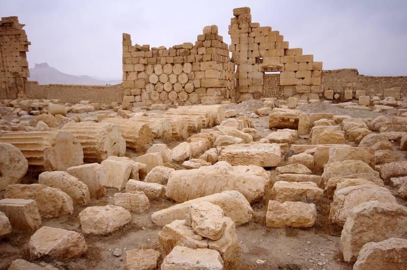 Świątynia boga deszczu Baala , Palmyra