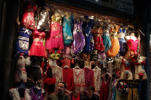 frywolne ubrania muzułmańskich kobiet