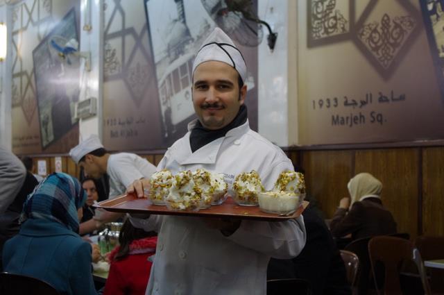 Mój kelner, Damaszek, Bakdash Caffe