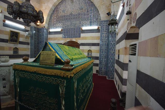 mauzoleum Saladyna, Damaszek, Syria