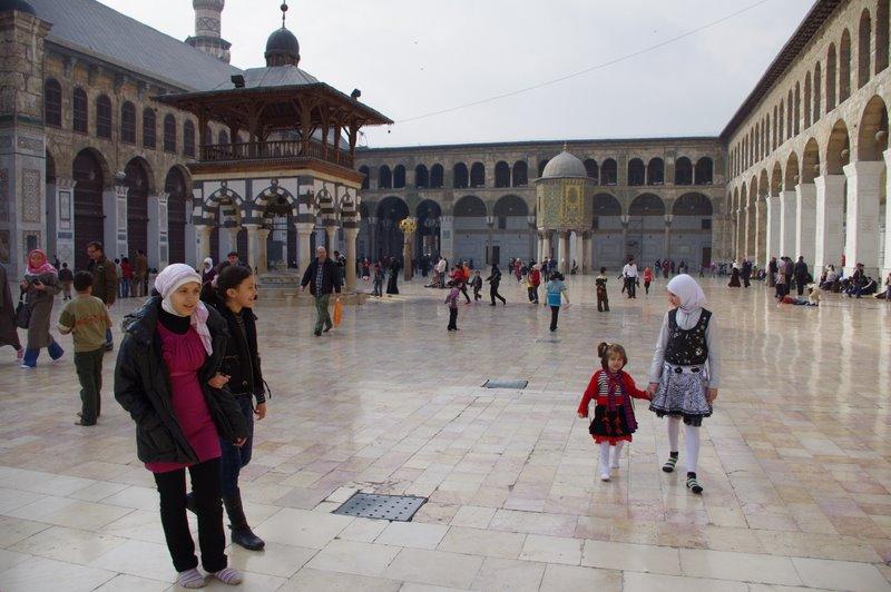 Meczet Umajjadów Damaszek Syria
