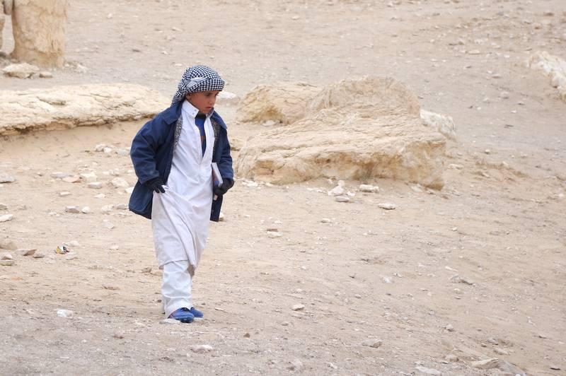 Sprzedawca pamiątek Palmyra