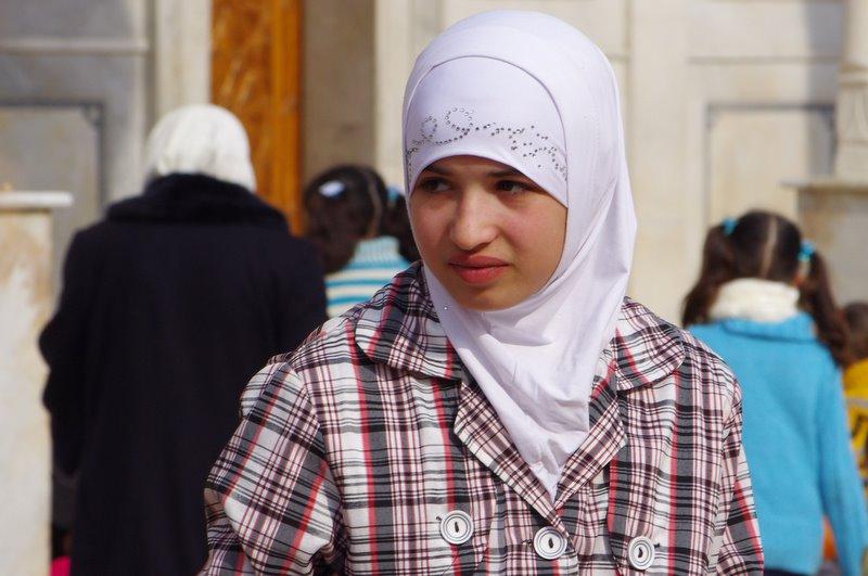 muzułmanka Meczet Umajjadów Damaszek