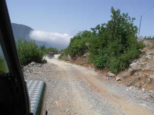 jeep safari - Turcja-  Góry Taurus