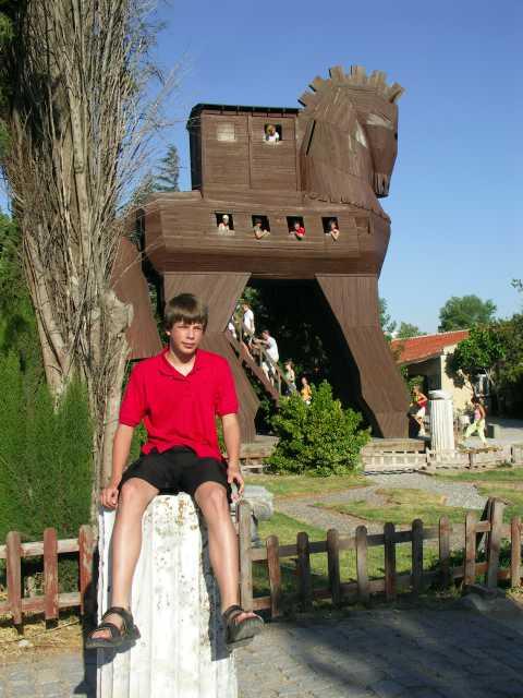Troja - Koń trojański